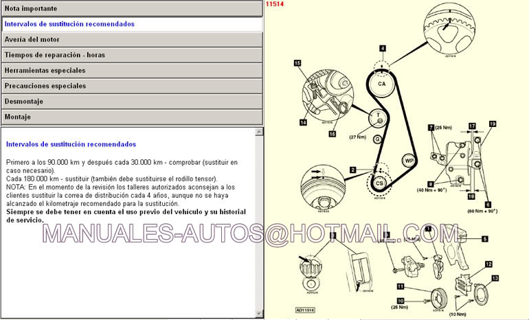 Manual de Reparacion Volkswagen Sharan 2002 2003 2004