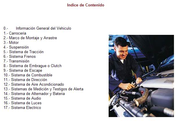 Grand Marquiz 2000 al 2003 - Manual De Reparacion y Taller