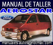 Manual De Reparacion Ford Aeroestar 1992 1993 1994 1995 1996 1997