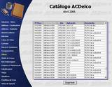 catalogo acDelco astra manual 1999
