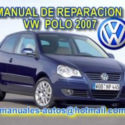 Volkswagen Polo 2007 - Manual De Reparación De Diagnósticos