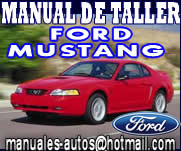 Manual De Reparación Ford Mustang 1998 1999 2000 2001
