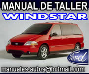 Manual De Reparación Ford Windstar 1999