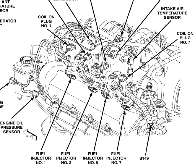 Dodge Ram 1500 360 Engine Diagram on jeep cherokee 4 0 exhaust