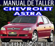 Manual De Reparación Chevrolet Astra 2000 2001 2002 2003 2005