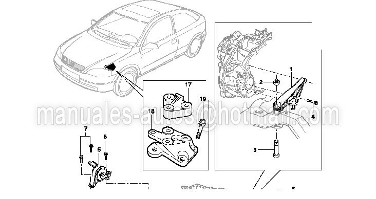 Manual De Taller Chevrolet Zafira