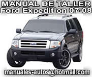 Ford Expedition 2007 2008 - Manual De Reparacion y Taller