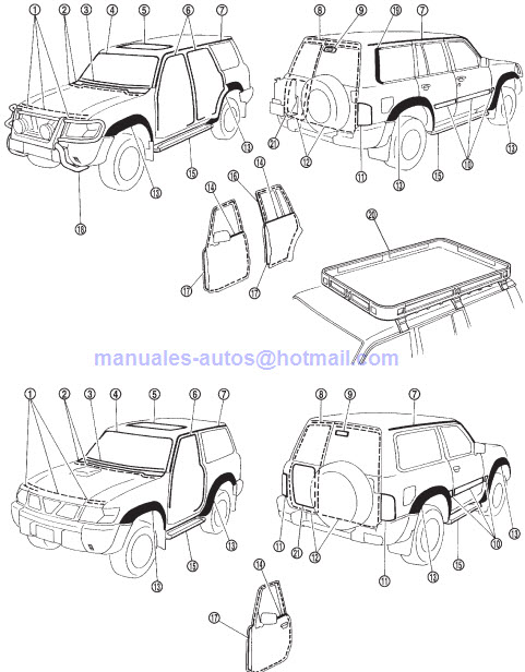 Manual De Reparacion Nissan Patrol 2004 - repair7