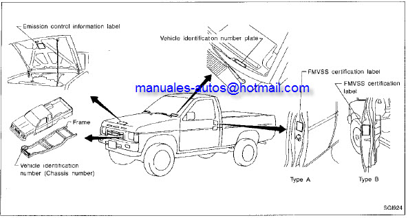 Nissan Estaquita 1997 - Manual De Reparacion y servicio - repair7