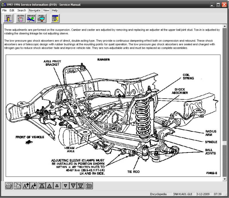 Manual De Reparaci U00f3n Ford Thunderbird 2000 2003