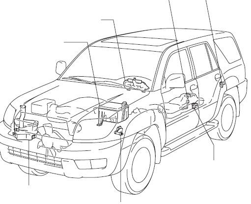 Body Repair Manual Toyota 4Runner 2007 2008