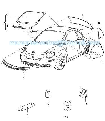Ledningsdiagram For 2002 Vw Beetle
